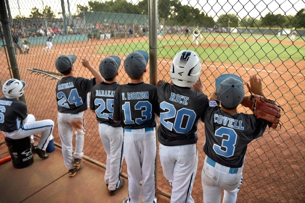 Mountain Ridge won't return to the Little League World Series after losing to Paseo Verde in the state tournament at the Arroyo Grande Athletic Complex in Henderson. (David Becker/Las Vegas  ...
