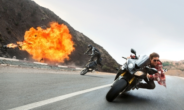 """Tom Cruise stars as Ethan Hunt in """"Mission: Impossible — Rogue Nation."""" (Bo Bridges/Paramount Pictures)"""