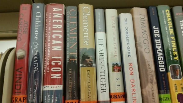 Sports books to be found in the GV section of the Clark County Library. RON KANTOWSKI/LAS VEGAS REVIEW-JOURNAL