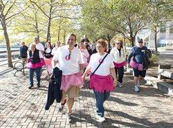 Raising awareness of metastatic breast cancer one tutu at a time