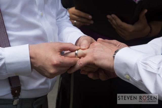 """Greg and James ceremony."" (Steven Rosen Photography/Facebook)"