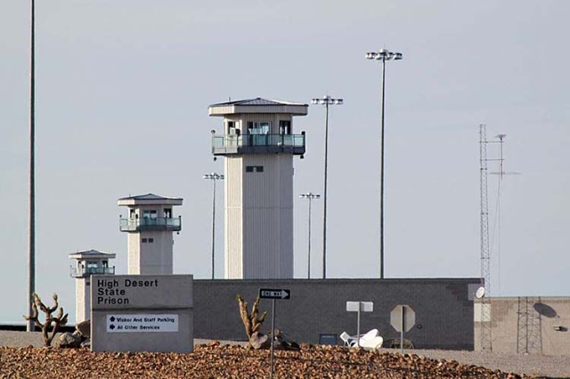 High Desert State Prison in Indian Springs. (Photo courtesy FlickR)