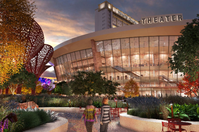 The new 5,000-seat theater to be built at the Monte Carlo. (Courtesy/MGM Resorts)
