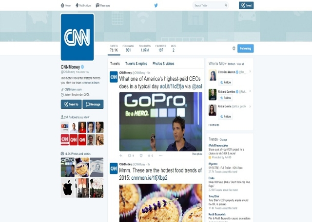 'blinding white' Twitter background (CNNMoney/Twitter)