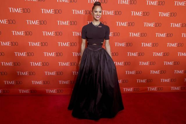 Dancer Misty Copeland arrives for the TIME 100 Gala in New York in this file photo from April 21, 2015. (REUTERS/Brendan McDermid/Files)