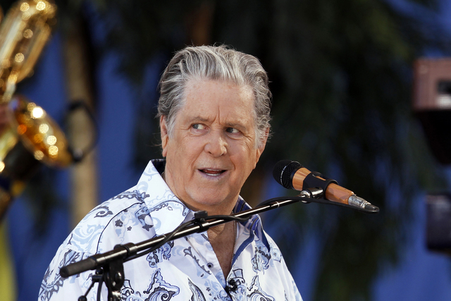 Brian Wilson performs with the Beach Boys on ABC's Good Morning America in New York's Central Park June 15, 2012. REUTERS/Lucas Jackson (UNITED STATES - Tags: ENTERTAINMENT) - RTR33NPK