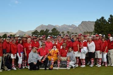 Ronald McDonald Charities of Greater Las Vegas partnered with the Sun City Men's 18 Holers for a two-day event May 8-9. The group raised $30,000 for the organization. (Special to View)