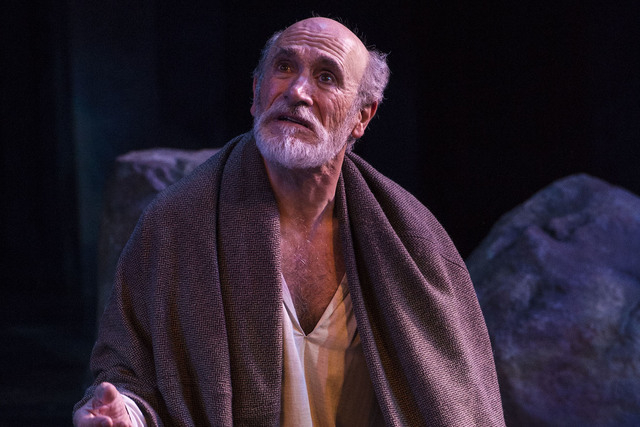 """After dividing his realm, King Lear (Tony Amendola) struggles to survive amid the turmoil his rash decision has  triggered in the Utah Shakespeare Festival's current production of """"King Lear."""" Pho ..."""