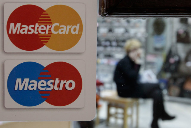 MasterCard this fall will start experimenting with approving online purchases with a facial scan. (Reuters/Eduard Korniyenko file)