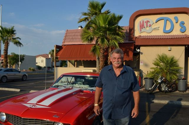Dennis Haecke shows off his 1969 Yenko Super Car Camaro outside Mr. D's. (Ginger Meurer/Special to View)