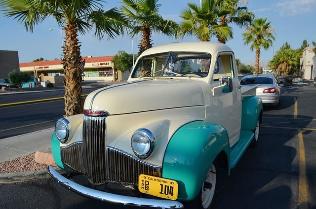 Michael Gevargiz's 1947 Studebaker truck can be seen during most car nights at Mr. D's sports bar and grill. (Ginger Meurer/Special to View)