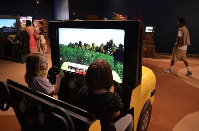 """A jeep complete with video is among displays in the Springs Preserve's visiting """"Be the Dinosaur: Life in the Cretaceous"""" display, part of the """"Dino Summer"""" exhibit scheduled through Sept. 20  ..."""