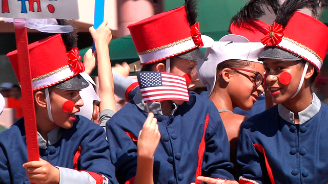 Spectators enjoy the 2014 Summerlin Council Patriotic Parade, which drew about 35,000 people. This year's 21st annual parade is scheduled from 9 to 11 a.m. July 4, with the escort division set for ...