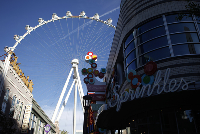The High Roller at The LINQ in Las Vegas is seen on Tuesday, Oct. 21, 2014. (Erik Verduzco/Las Vegas Review-Journal)