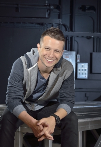 Magician Mat Franco, 27, grew up studying other magicians' tricks. (Bill Hughes/Las Vegas Review-Journal)