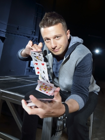 "Mat Franco, the only magician to win ""America's Got Talent,"" is set to launch his own show, ""Magic Reinvented Nightly,"" on Wednesday at The Linq. (Bill Hughes/Las Vegas R ..."