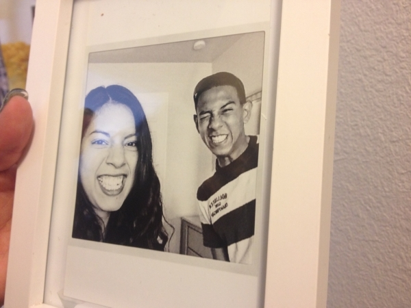 A photo of siblings Angel and Jackie Velasquez is shown in their mother's home July 21. The Velasquez Memorial Soccer Tournament & Carnival is set for Aug. 16 at Tropical Breeze Park, 15 ...