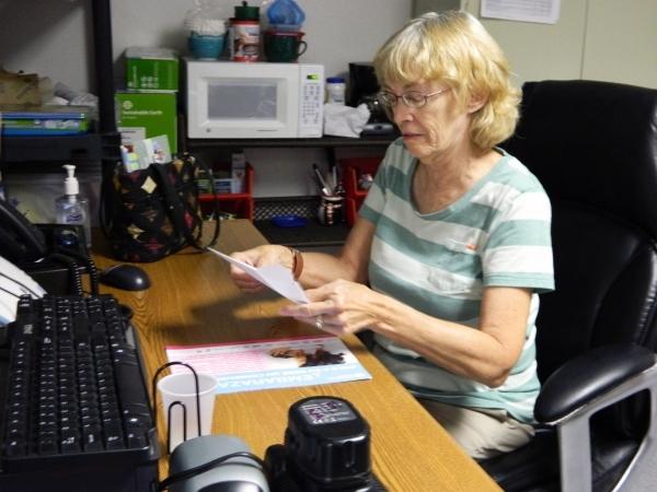 Sherrilyn Coffman is director of the Dr. Joel & Carol Bower School-Based Health Center, 400 Palo Verde Drive. (Cassandra Keenan/View)