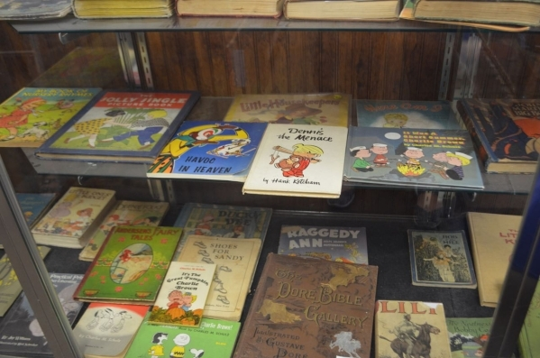 Vintage children's books are among the offerings at Amber Unicorn, 2101 S. Decatur Blvd., Suite 14. (Ginger Meurer/View)