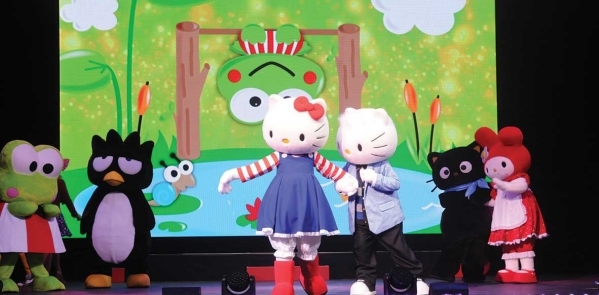 The cast of Hello Kitty's Supercute Friendship Festival is headed to the Orleans Arena Aug. 14-16. (Special to View)
