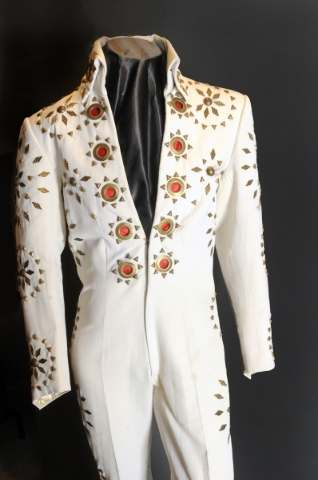 "One of Elvis Presley's iconic jumpsuits is among the items on display at ""Graceland Presents ELVIS: The Exhibition — The Show — The Experience"" at Westgate, 3000 Paradise Road. ..."