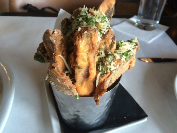 Portobello fries with herb aioli are on the small plates menu at Echo & Rig for $9.80. (Jan Hogan/View)