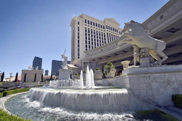 Caesars Palace is part of Caesars Entertainment Operating Co., which is involved in bankruptcy proceedings.   David Becker/Las Vegas Review-Journal