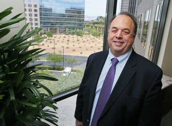 Seth Ravin, chief executive officer and chairman of the board, poses in the fifth floor conference room at Rimini Street Thursday, Aug. 6, 2015, in Las Vegas. Rimini Street, located at 3993 Howard ...
