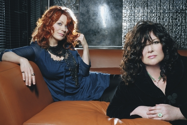 Heart, led by sisters Ann and Nancy Wilson, are set to rock the House of Blues. (Courtesy photo)