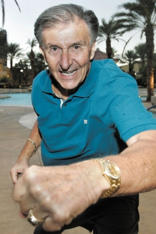 Former UNLV football coach Harvey Hyde poses for a portrait in October 2012 in Las Vegas. The Rebels had their last consecutive winning seasons in the 1980s under Hyde. (Las Vegas Review-Journal file)