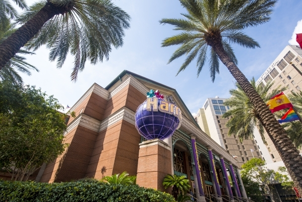 The exterior of Harrah's New Orleans in New Orleans is shown on Tuesday, Aug. 11, 2015. (Joshua Dahl/Las Vegas Review-Journal)