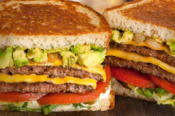 Santa Barbara Style at The Habit Burger Grill is a Double Char with cheese and avocado on grilled sourdough. (Courtesy photo)