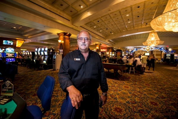 General manager John Ferrucci stands inside the Silver Slipper Casino in Bay St. Louis, Miss. He recalls when he was told to evacuate in August 2005 because of Hurricane Katrina.   Joshua Dahl/Las ...