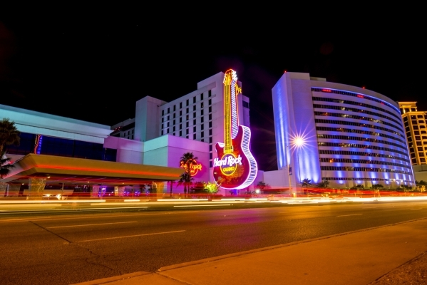 """The Hard Rock Casino in Biloxi, Miss., is shown Aug. 12. The Gulf Coast in the past 10 years has faced the challenges of hurricanes, the Deepwater Horizon oil spill and the Great Recession. """" ..."""