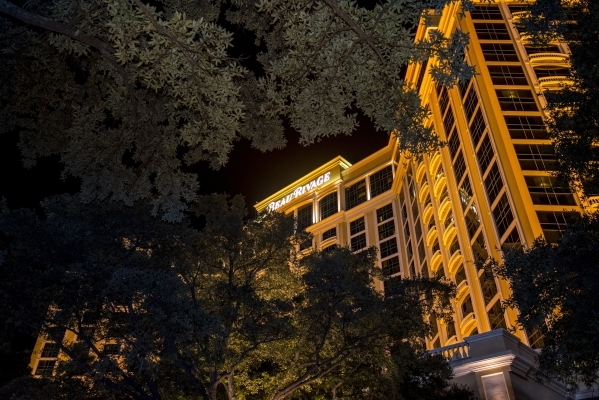 The Beau Rivage in Biloxi, Miss., is shown Aug. 12. In 2005, Hurricane Katrina's 35-foot storm surge washed through the property, which needed a year to reopen.   Joshua Dahl/Las Vegas Revie ...