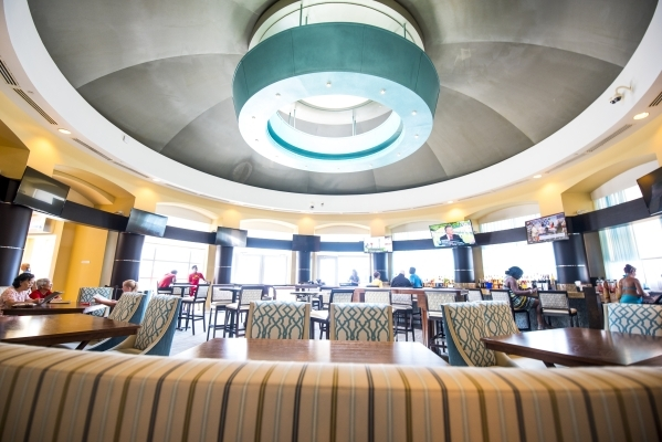 """A bar inside Harrah's Gulf Coast hotel-casino in Biloxi, Miss., is shown Aug. 12. Harrah's Gulf Coast General Manager Jonathan Jones says, """"There is tremendous upside in the poten ..."""