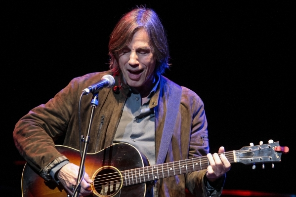 Singer-songwriter Jackson Browne visits the Pearl at the Palms on Friday. (Courtesy photo)