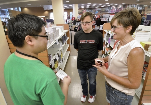 Focus Helps Those With Intellectual Disabilities Attend College Las Vegas Review Journal The bookstore will no longer offer engraving services. las vegas