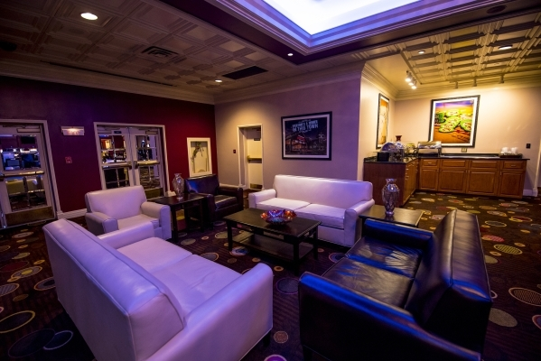 The VIP gaming area of Boomtown Casino in New Orleans is shown on Tuesday, Aug. 11, 2015. (Joshua Dahl/Las Vegas Review-Journal)