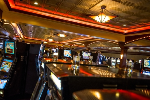 The gaming floor of Boomtown New Orleans is shown on  Aug. 11. Boomtown is one of two casinos that was back in business less than two months after Katrina hit. Joshua Dahl/Las Vegas Review-Journal
