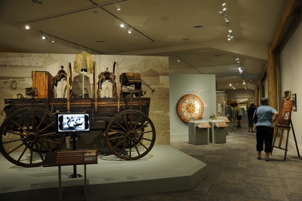 The Buffalo Bill Center of the West in Cody, Wyo., combines five respected museums and a research library. (COURTESY BUFFALO BILL CENTER OF THE WEST)