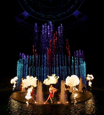 "Sequences from Wynn Las Vegas' ""Le Reve -- The Dream"" will be featured during Wednesday's ""America's Got Talent"" telecast from Radio City Music Hall in New Yo ..."