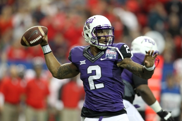 Texas Christian quarterback Trevone Boykin is a Heisman Trophy candidate this season and leads a Horned Frogs team hungry to play for the national title after just missing the College Football Pla ...
