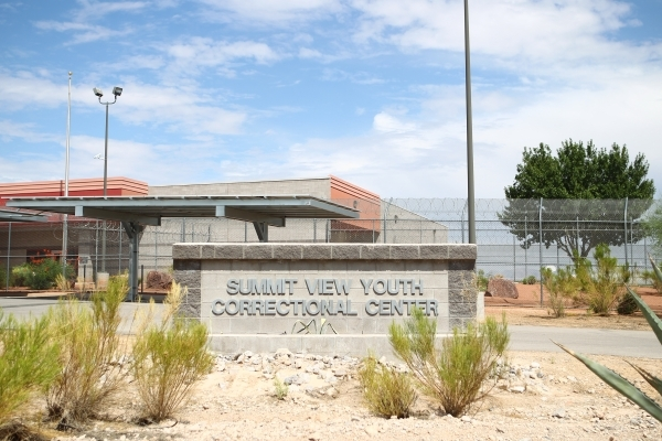 Summit View Youth Correctional Center is shown in Las Vegas on Wednesday, Aug. 26, 2015. Chase Stevens/Las Vegas Review-Journal Follow
