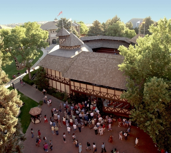 The Utah Shakespeare Festival's last performance in the Adams Shakespeare Theater in Cedar City, Utah, takes place Sept. 5. The theater will be torn down and replaced by the Engelstad Shakes ...