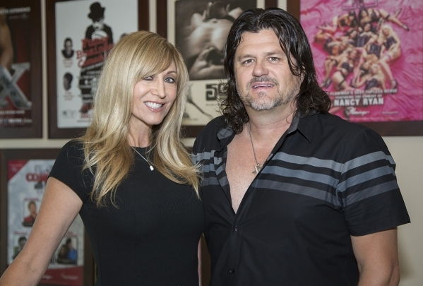 Angela and Matt Stabile produce Las Vegas shows. DAVID REISMAN/REAL ESTATE MILLIONS