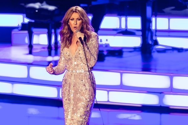 Celine Dion performs Thursday at the Colosseum at Caesars Palace during her first show after a yearlong hiatus. Chase Stevens/Las Vegas Review-Journal Follow