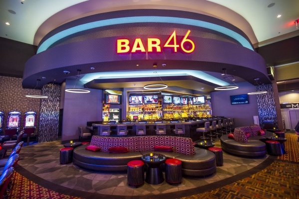 Bar 46 at the Golden Nugget in Biloxi, Miss. is shown on Thursday, Aug. 13, 2015. (Joshua Dahl/Las Vegas Review-Journal)