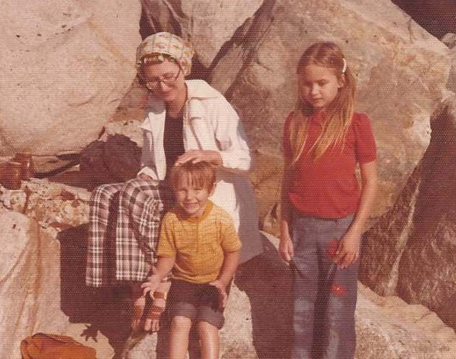 Delores Schafer, left, is shown in an undated family photo. Schafer, a long-time Las Vegas resident, passed away in Salt Lake City on Pioneer Day July 24. Photo courtesy Schafer family