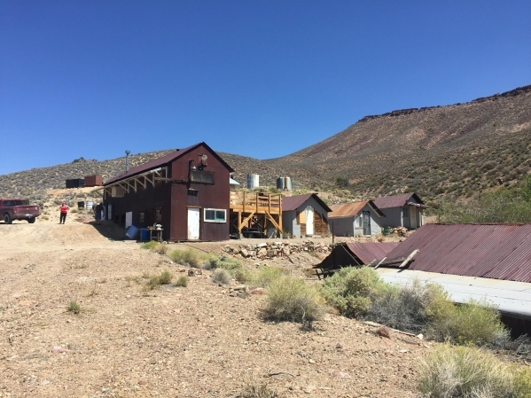 The main camp at Groom Mine is shown in August,  2015. Courtesy, Sheahan family